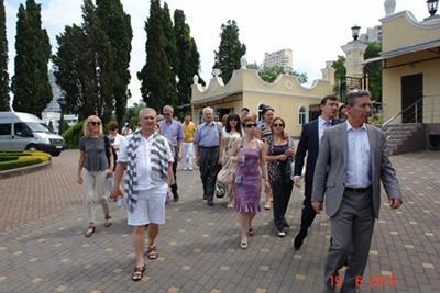 Посещение санатория им ФЭ Дзержинского